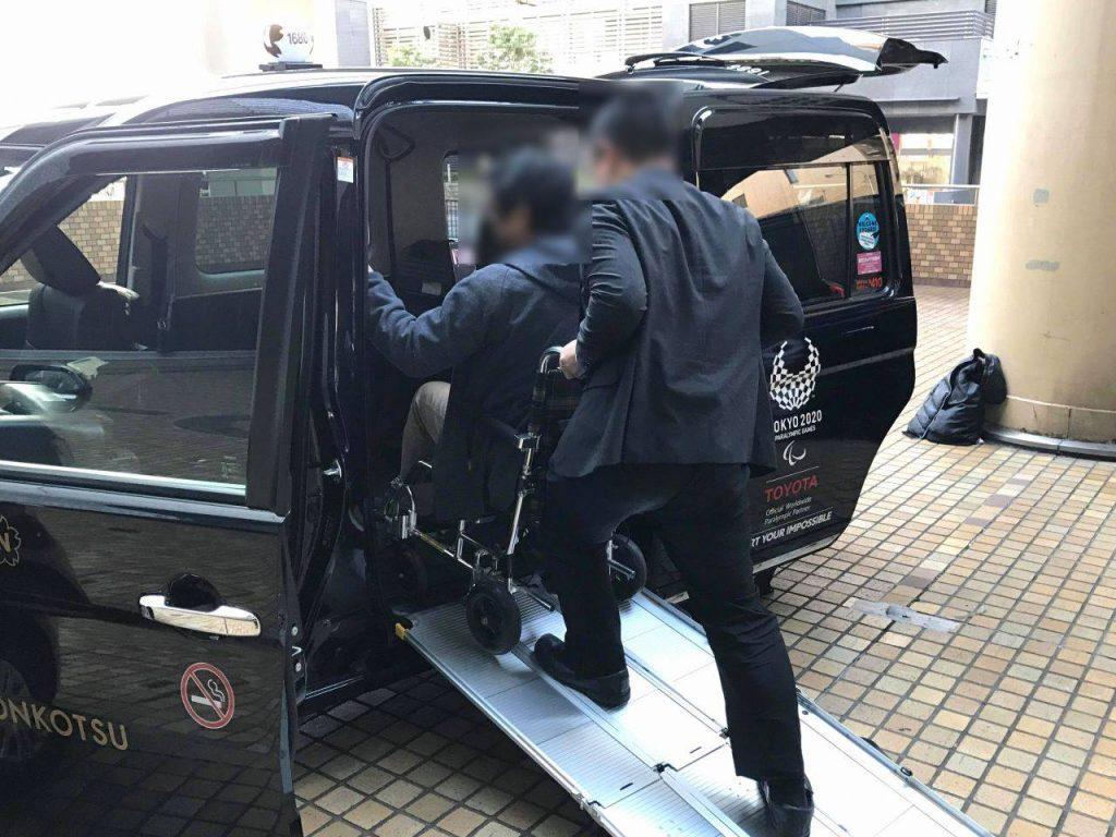 日本交通のUDタクシー
